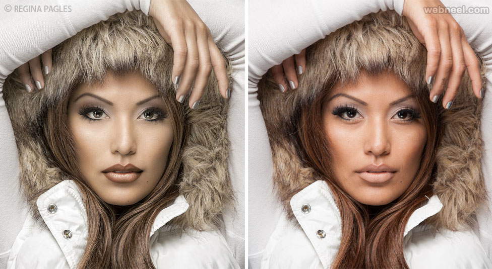 photo retouching editing