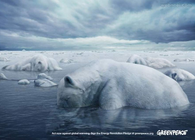 global warming poster design
