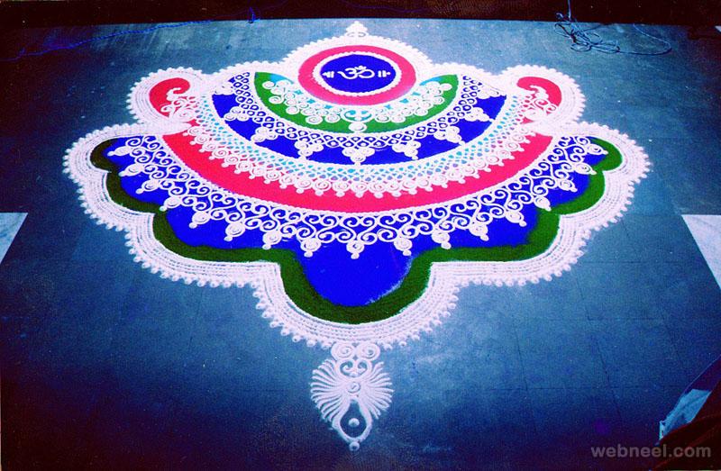 rangoli design indian