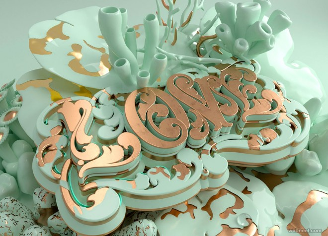 love typography design by like minded studio