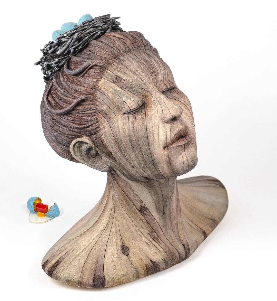 ceramic sculpture by christopher david white