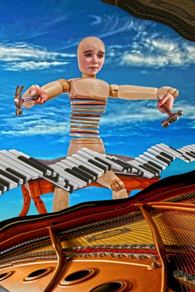 the pianist photographic print art