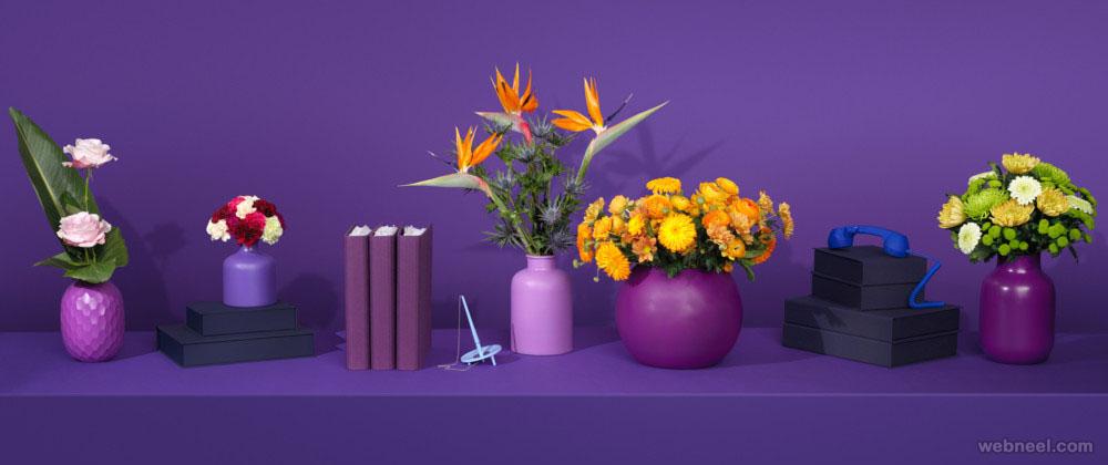 flowers still life photography by henrik bonnevier