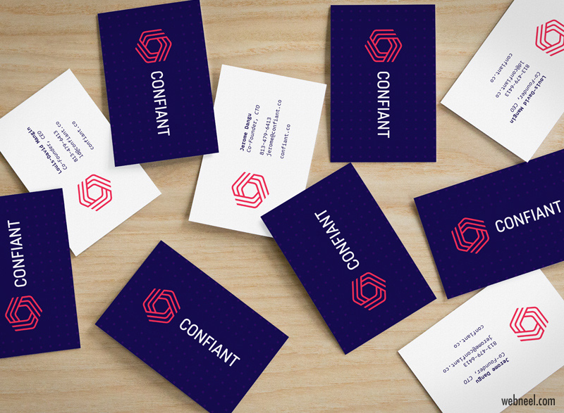 corporate business card design by mattyow