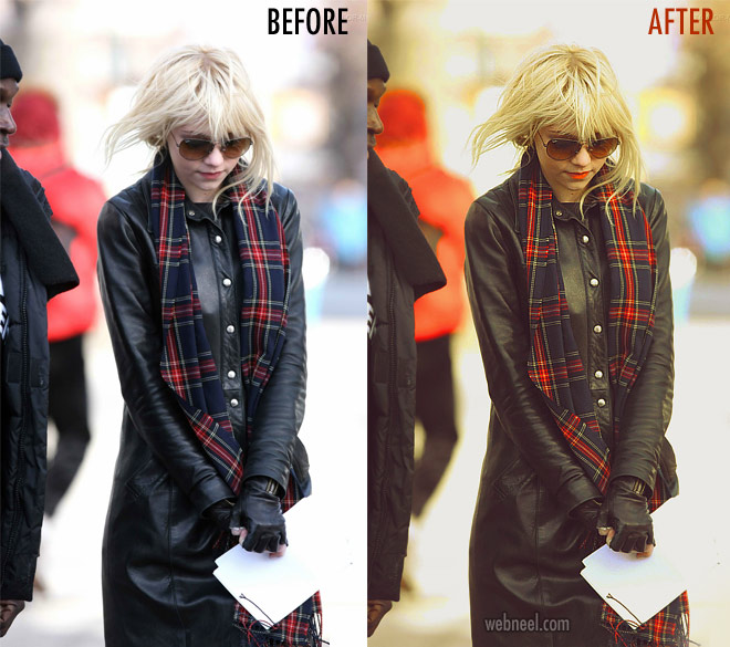 photo retouching after before by modernactions