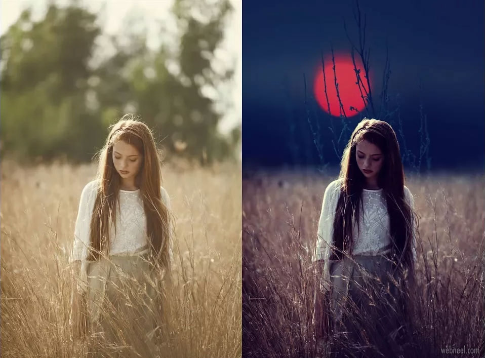 photo retouching after before by yaman kain