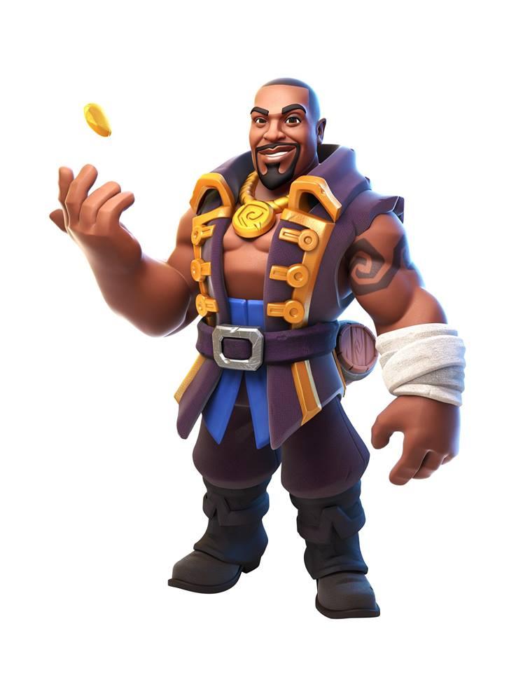 3d character man by elijah akouri