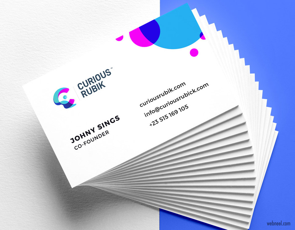 corporate business card design by usamaawan