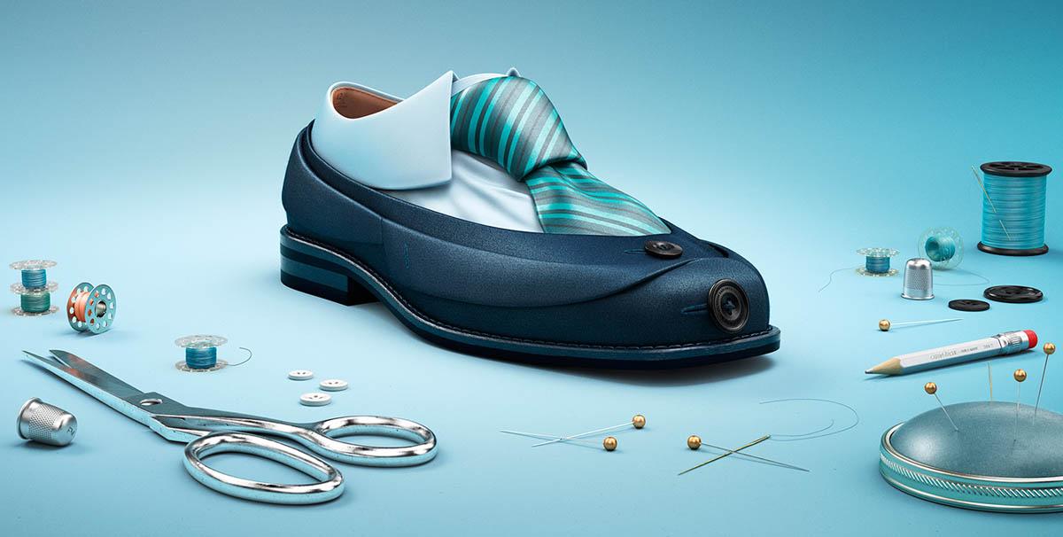 photo manipulation shoe