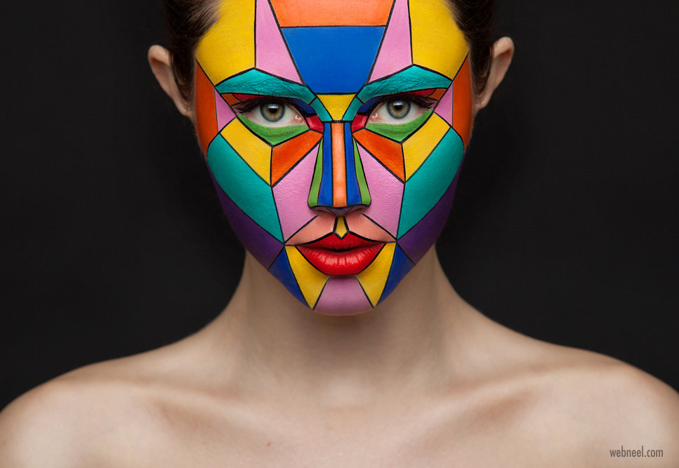 make up art face painting by konstantin klimin