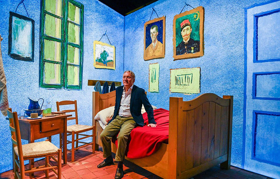 3d painting exhibition van gogh