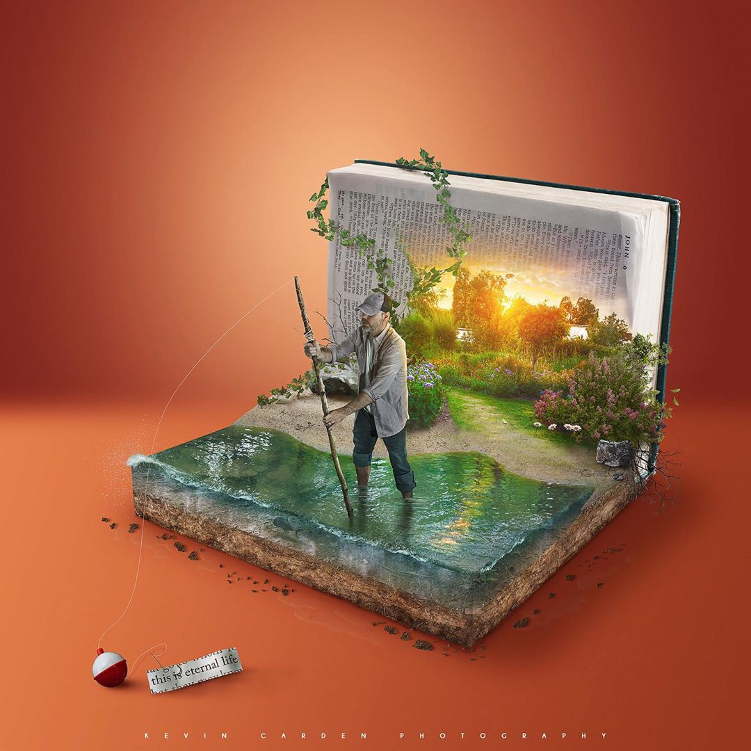 photo manipulation book by kevin carden