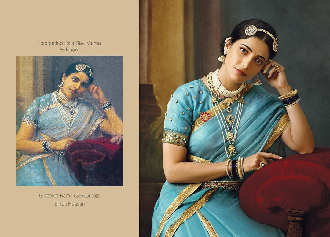 photography raja ravi varma paintings shruti