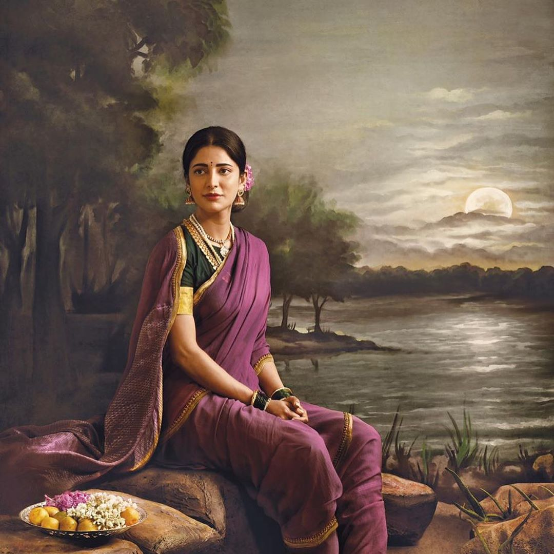 photography raja ravi varma paintings shruti solo venket ram