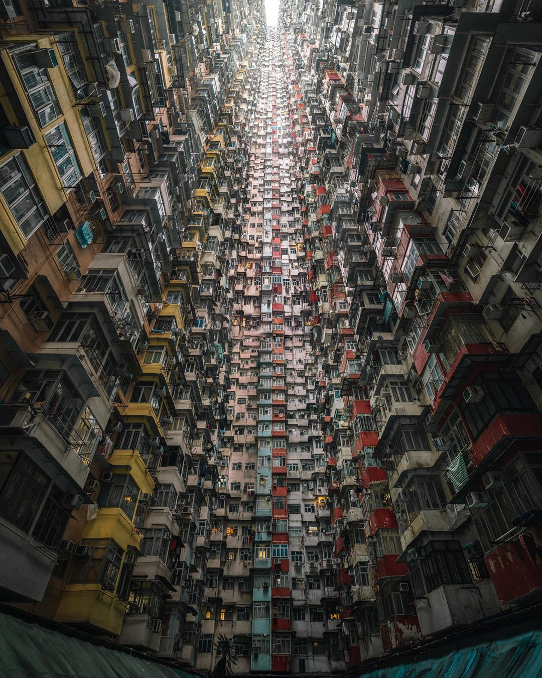 urban photography monster building by tristan zhou