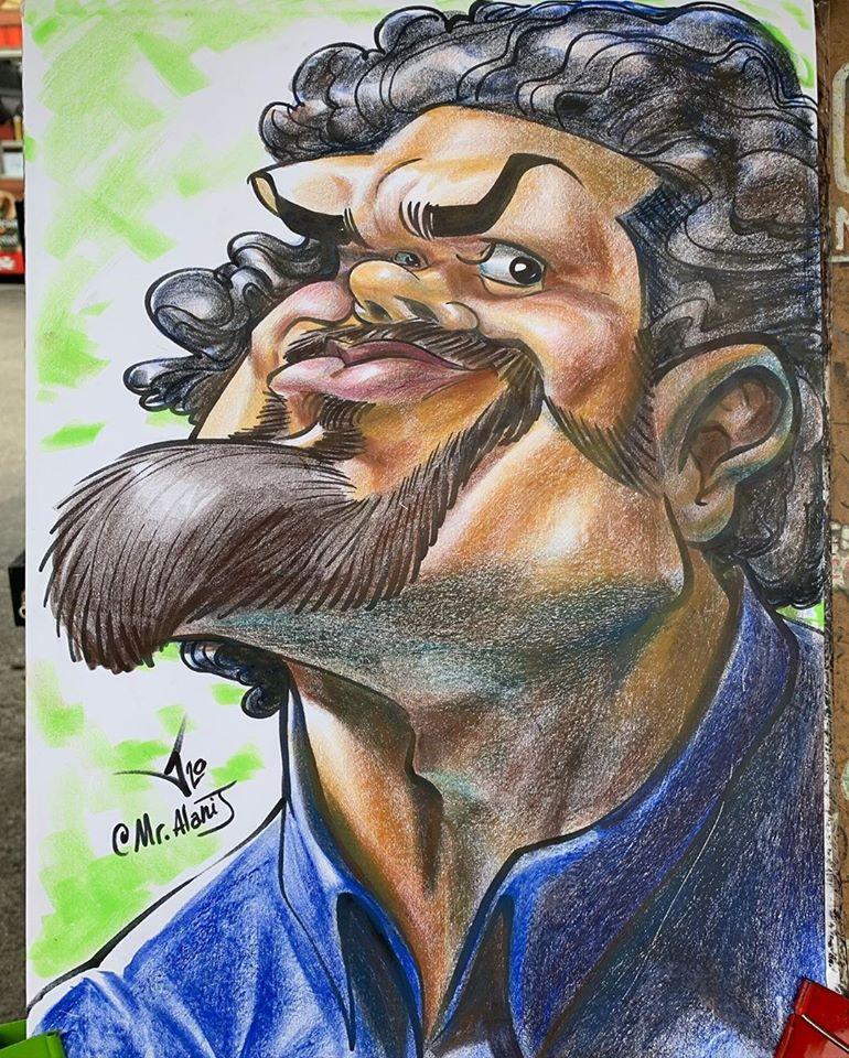 caricature funny by mr alani j