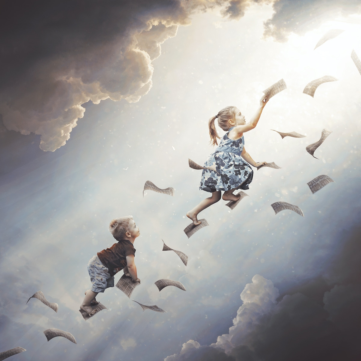 photo manipulation sky