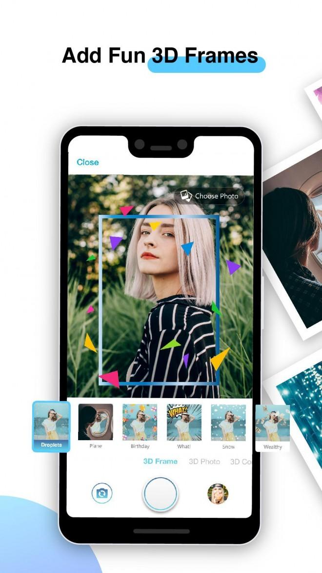 3d photography app fun frames