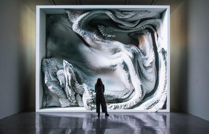 digital art award winning melting memories refik anadol
