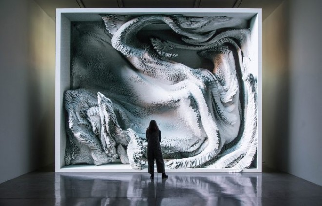 digital art award winning melting memories refik anadol