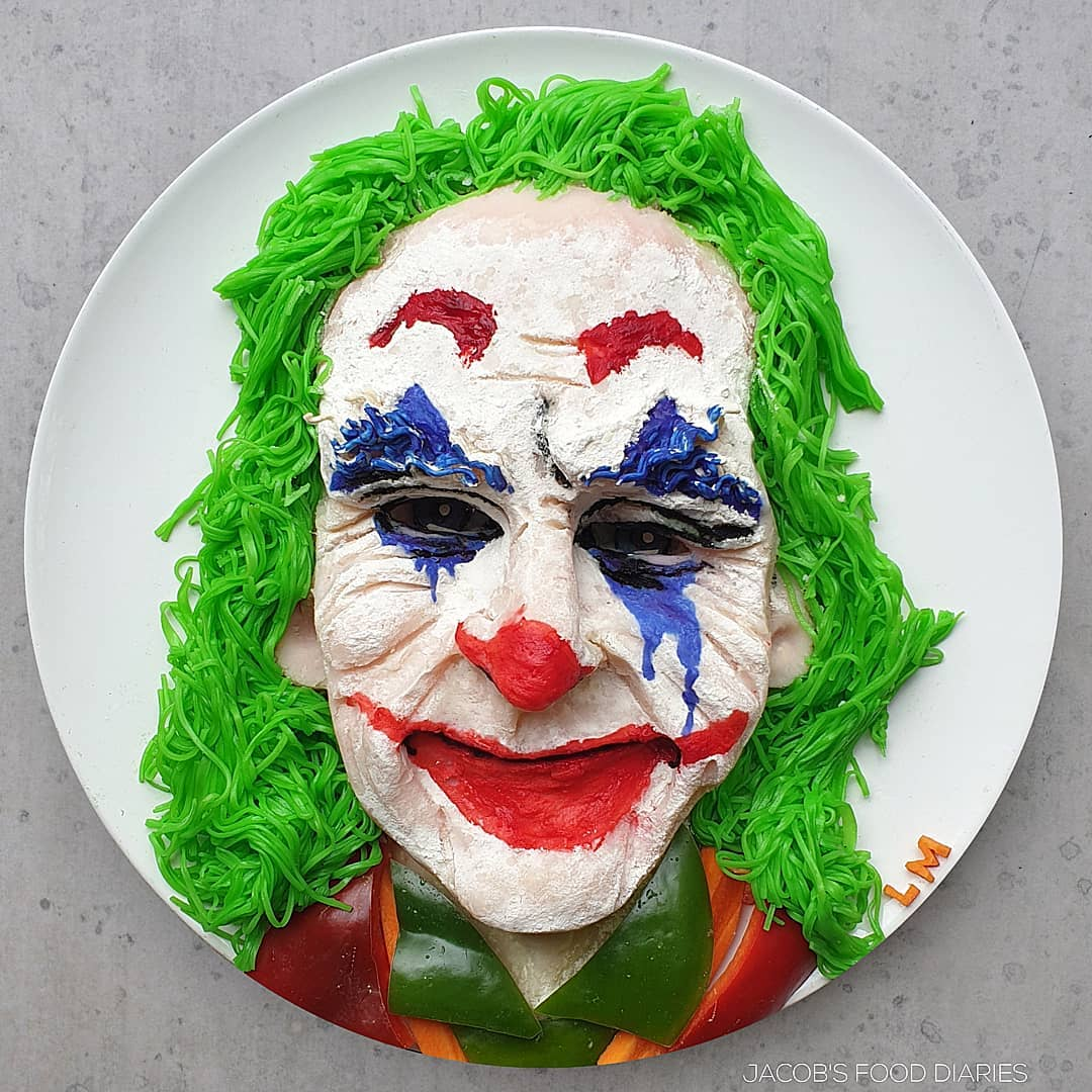food art joker by laleh mohmedi