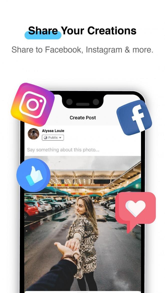 3d photography app share creation