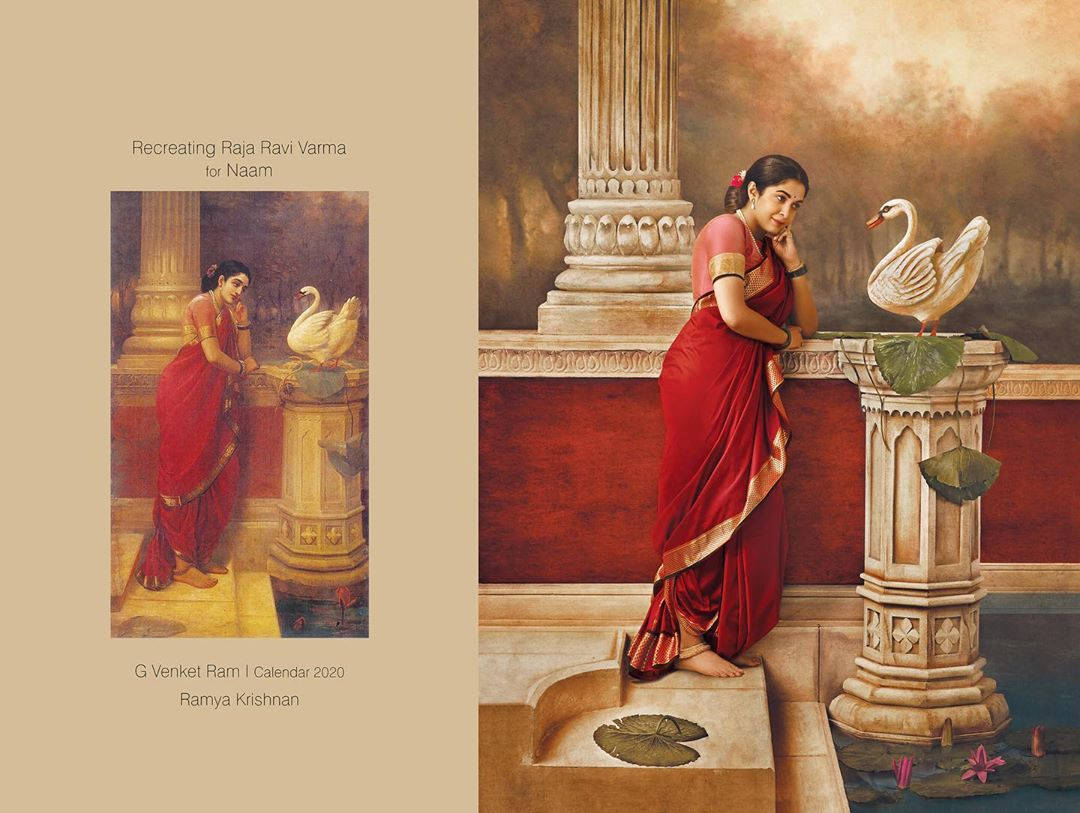 photography raja ravi varma paintings ramya krishnan