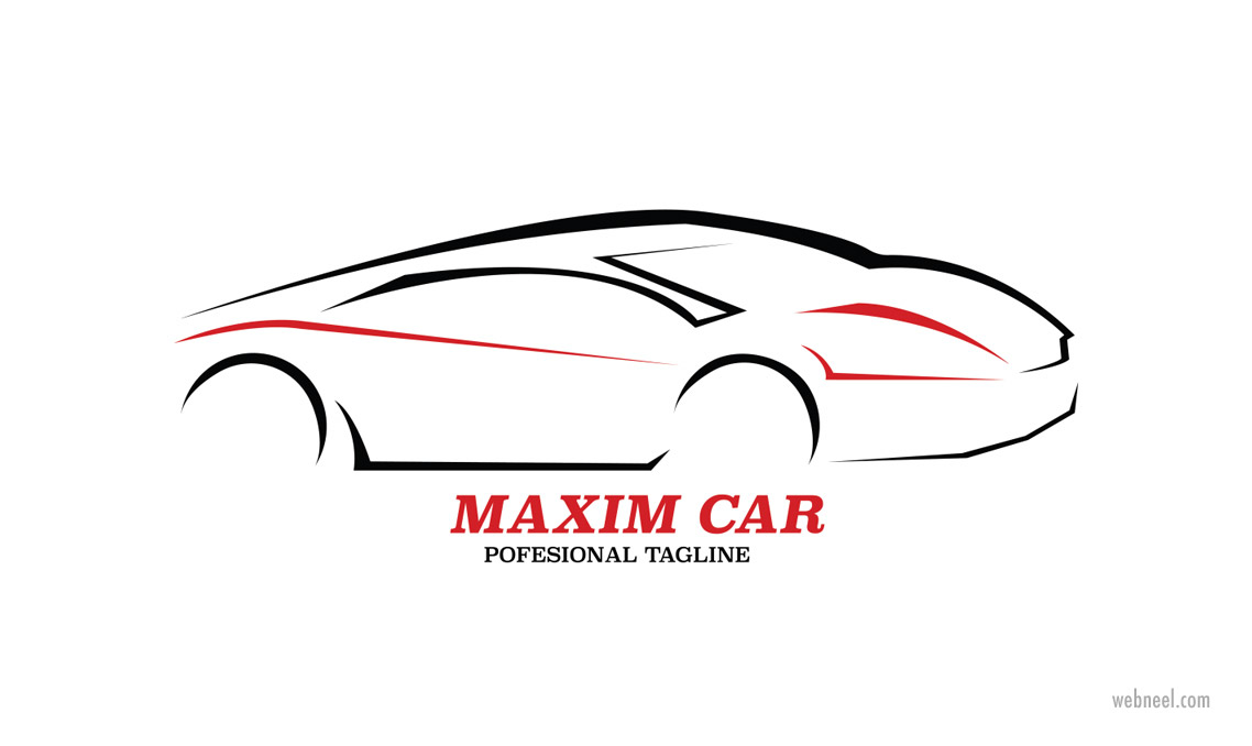 car logo design by nano raden