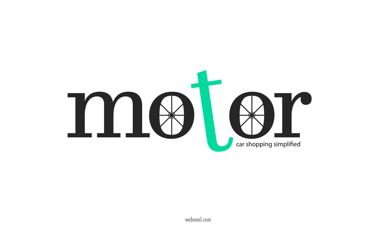car logo design motor by azaan ali