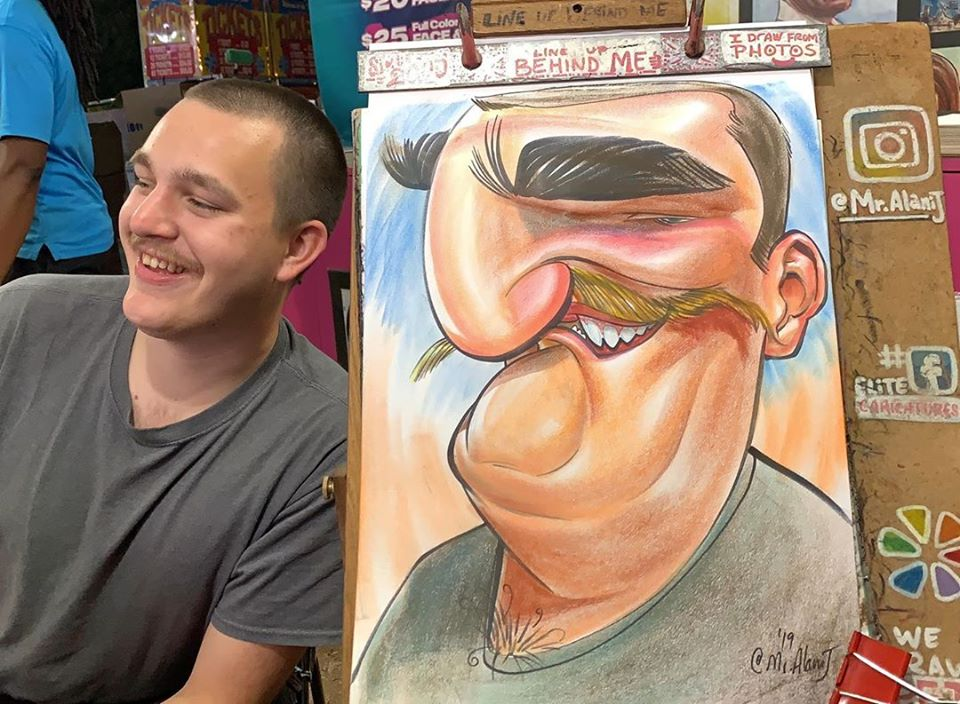 caricature funny