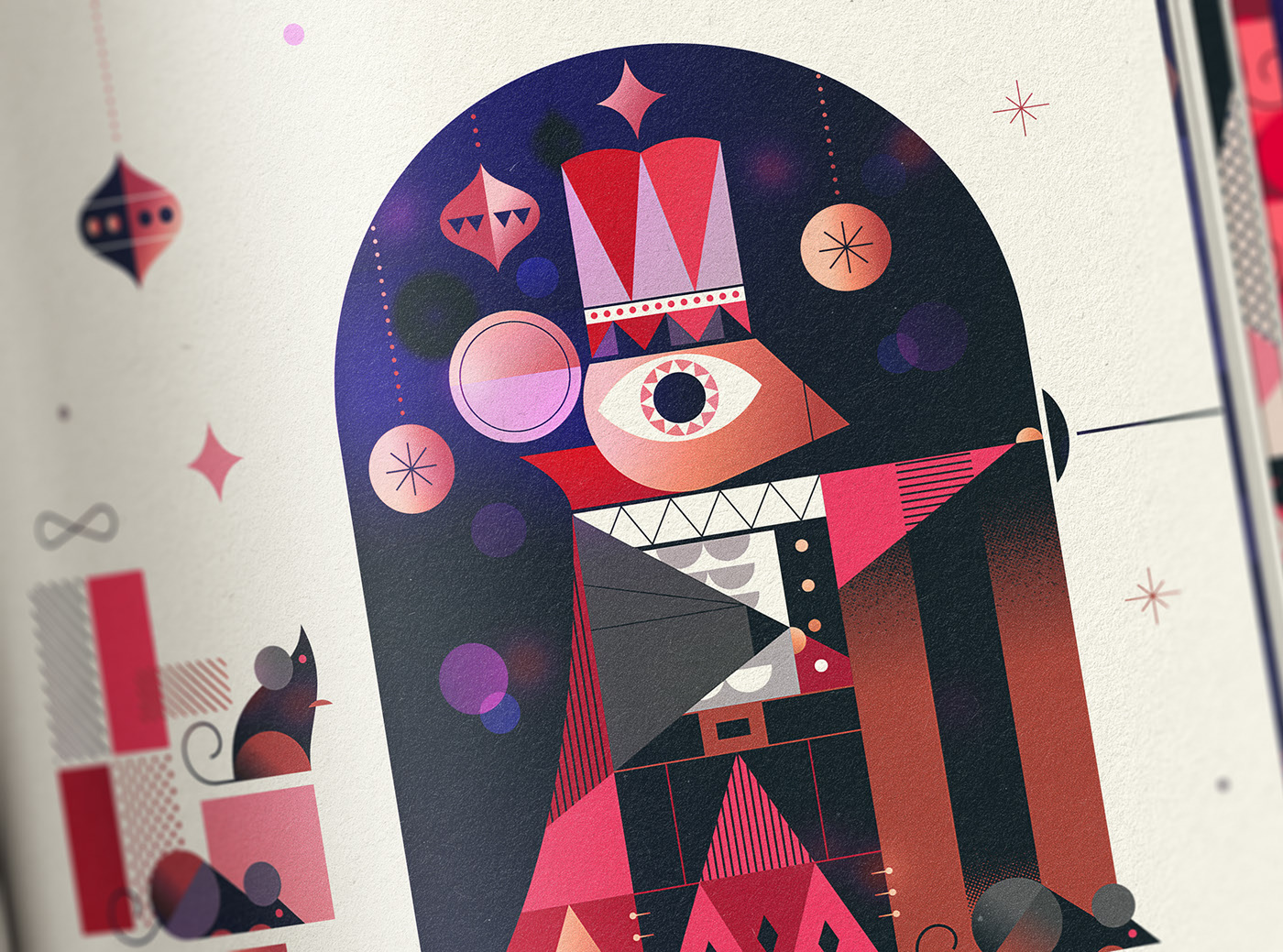 digital illustration editorial child story by russ gray