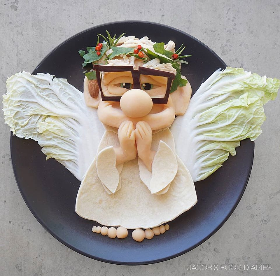 food art funny by laleh mohmedi