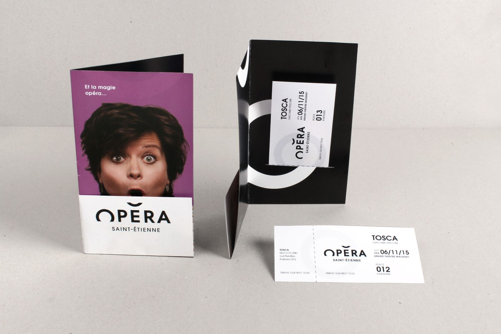 innovative brand design identity of saint etienne opera by grapheine