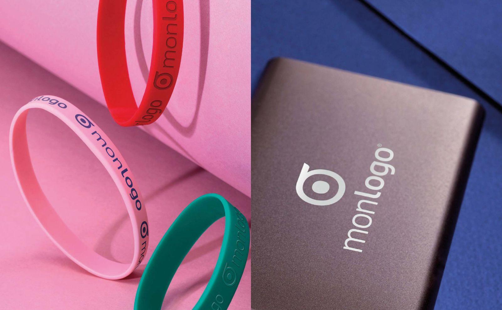branding design logo identity objetrama wristband