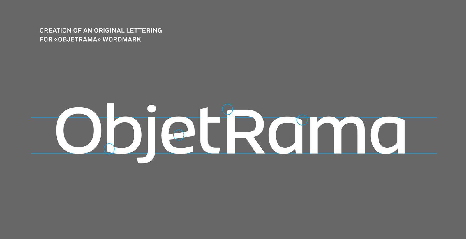 branding design logo identity objetrama