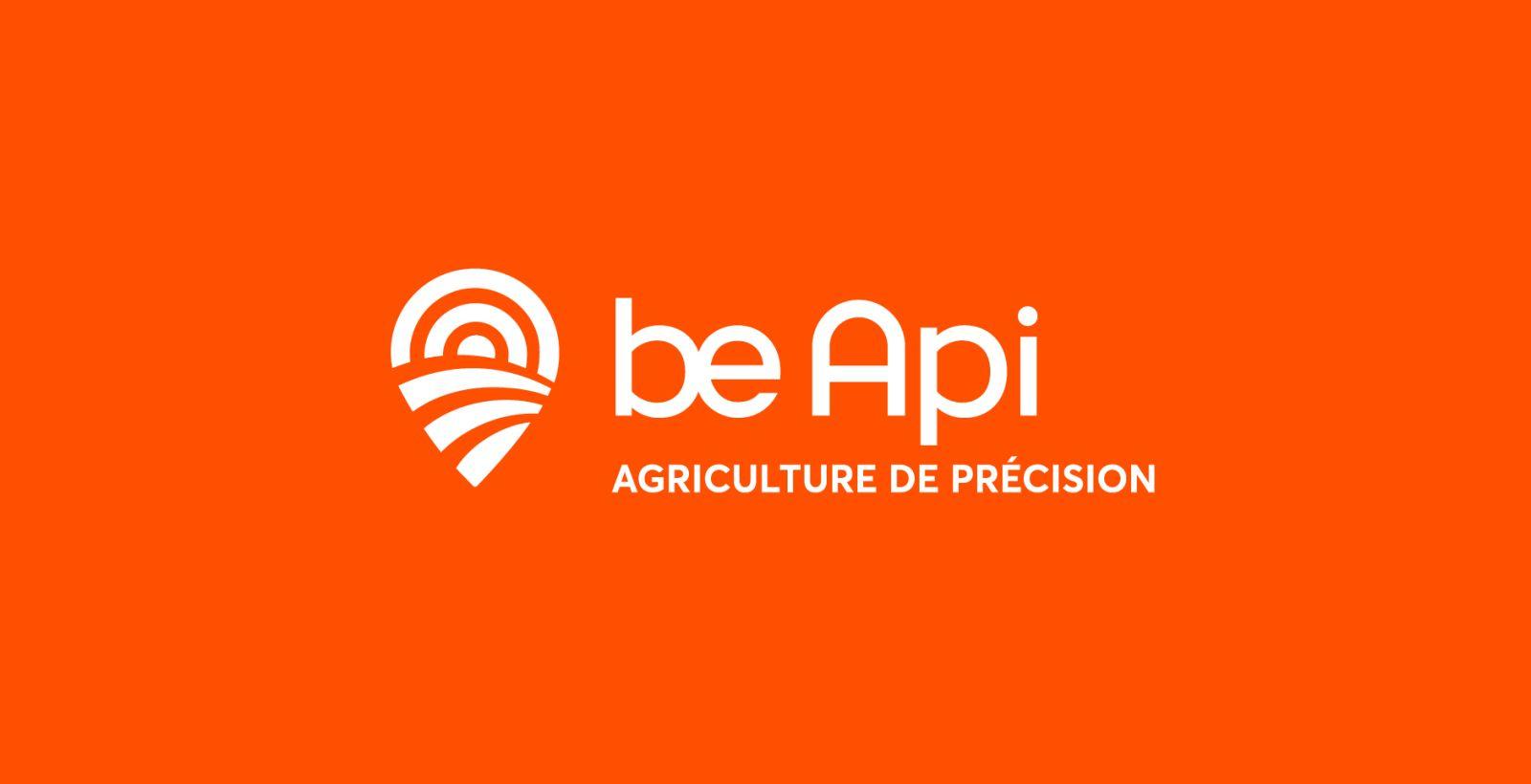 creative branding design of be api