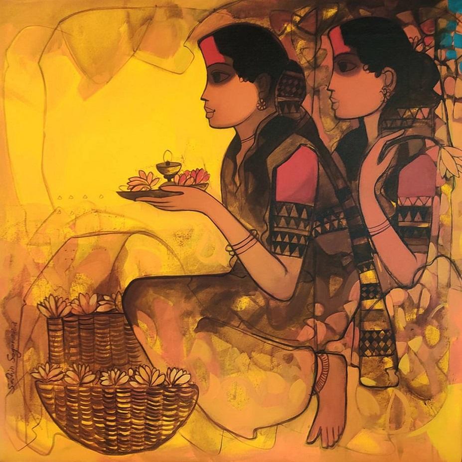best artwork goddes by sachin sagare