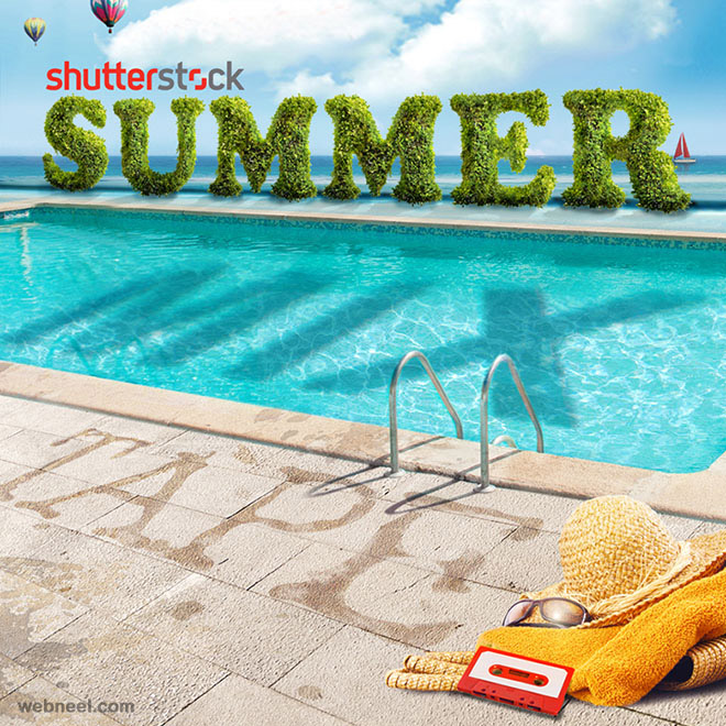shutterstock 3d typogrpahy