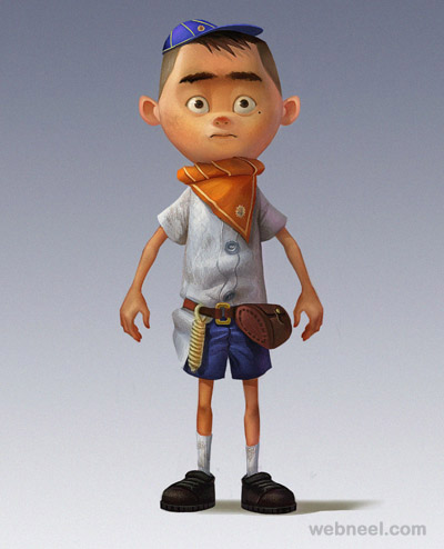 boy 3d cartoon character