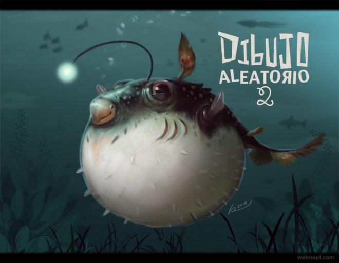 fish digital art by salvador