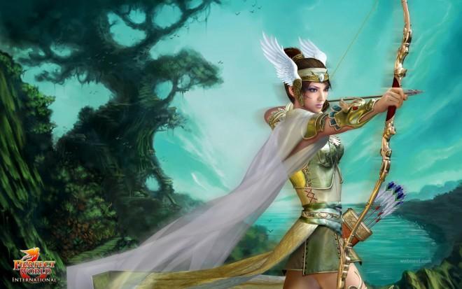 3d fantasy girl character