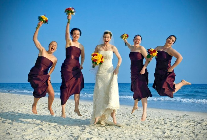 funny wedding photography