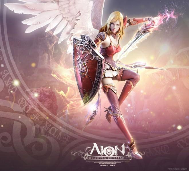 3d game fantasy art
