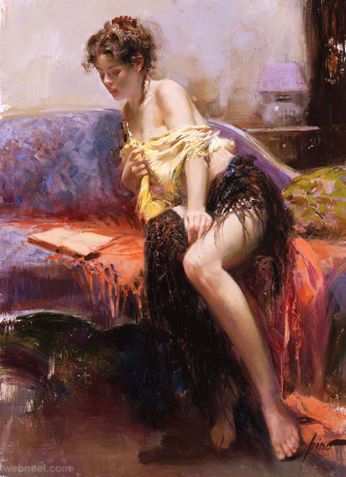 after_midnight painting by pino daeni