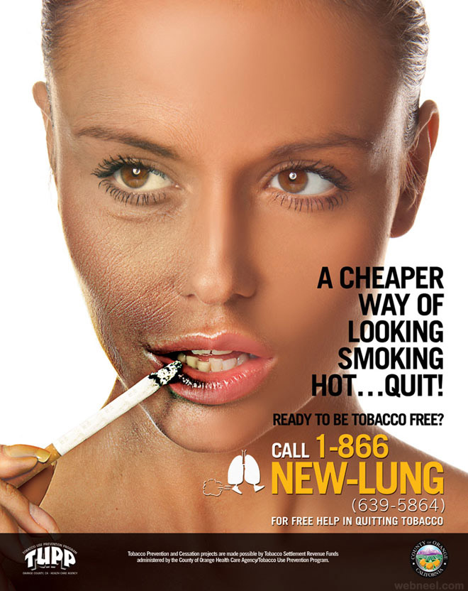 best anti smoking ad by inkrefuge