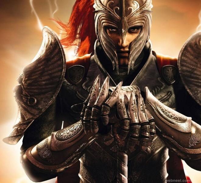 3d game warrior