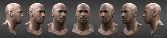 3d men portraits by jian xu