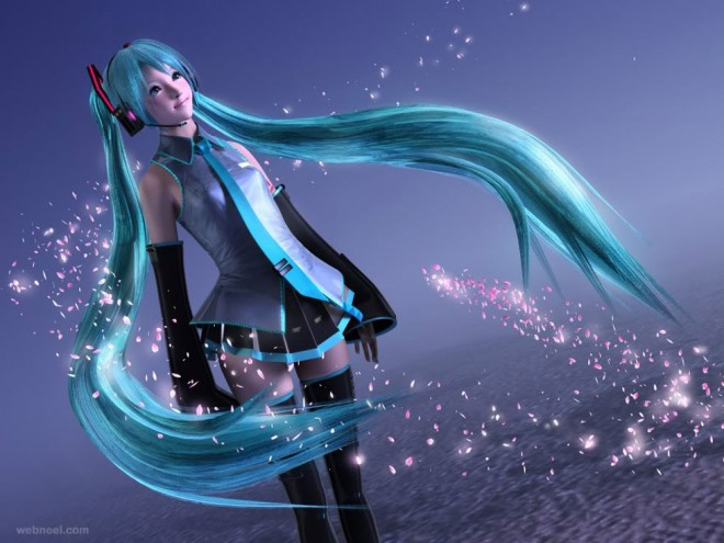 3d anime character