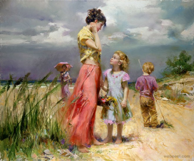 remember painting by pino daeni