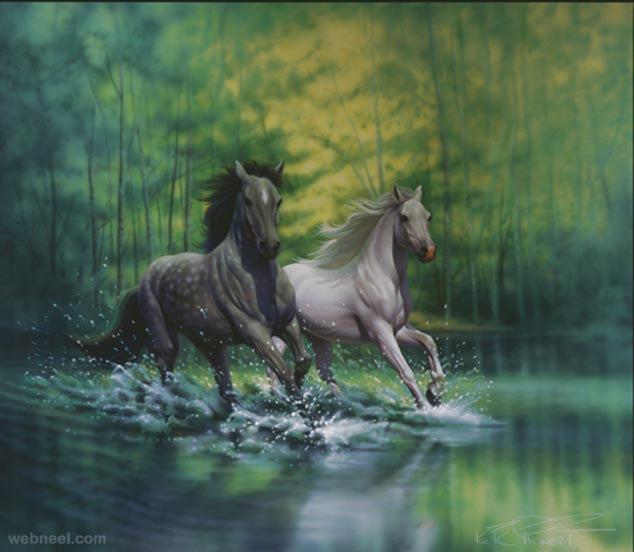 spring morning fantasy artwork